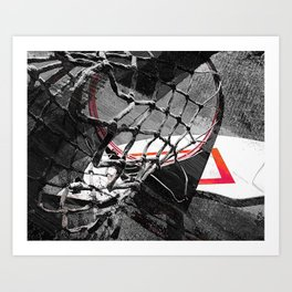 Takumipark basketball art vs 163 Art Print