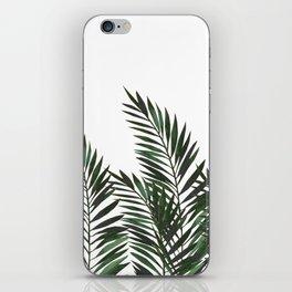Palm Leaves Green iPhone Skin