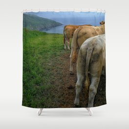 Will You Miss the Views??? Shower Curtain