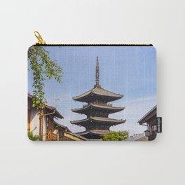 Yasaka Pagoda from Yasaka Street in Koyoto, Japan Carry-All Pouch