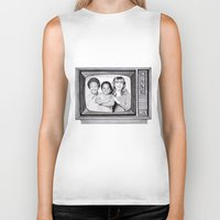 arnold Biker Tanks featuring Arnold & willy by label tania