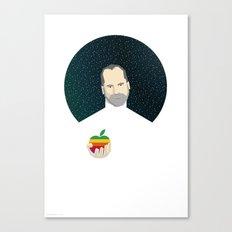 Steven Jobs / Apple Canvas Print
