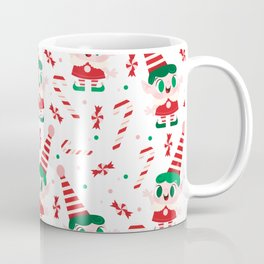 Pepperming Elves Coffee Mug