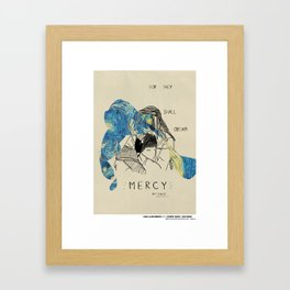 Blessed Series : For they shall Obtain Mercy Framed Art Print