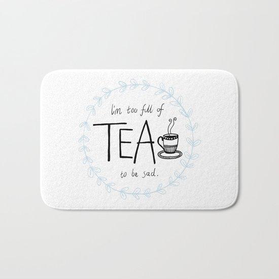 Full of Tea Bath Mat