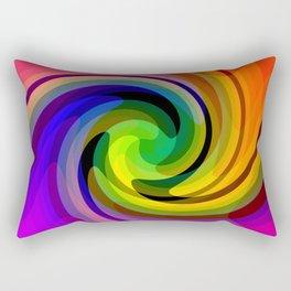 Color wheel storm Rectangular Pillow