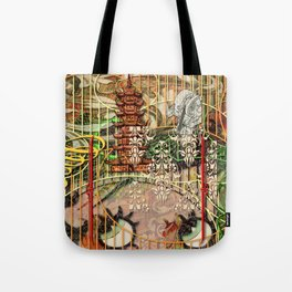The Interlocking Mechanism of Compartmentalization (1) Tote Bag