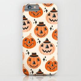 Vintage Halloween Blow Molds  iPhone Case