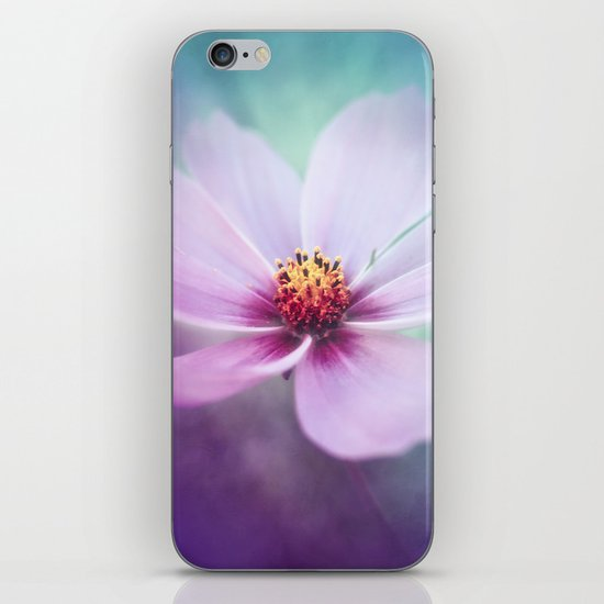 BEAUTY OF THE FOREST - PINK COSMEA FLOWER iPhone & iPod Skin