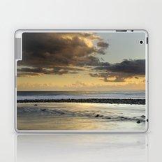 Gibraltar. Mediterranean sea at sunset. Laptop & iPad Skin
