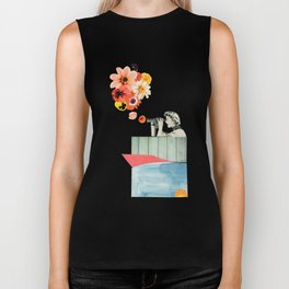 in bloom Biker Tank