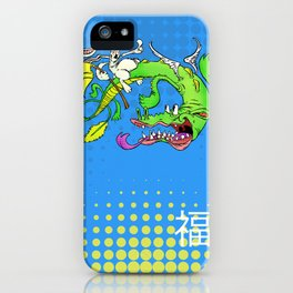 The Luck Dragon iPhone Case