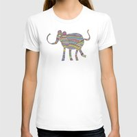 child T-shirts featuring rainbow child by Bianca Green