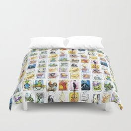 Mexican Lottery Duvet Cover