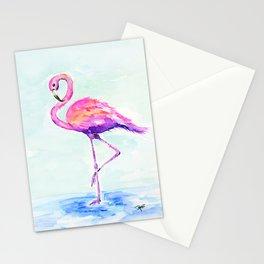 Flamingo Love Stationery Cards