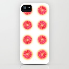 RUBY RED REPEAT iPhone Case