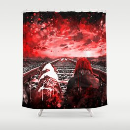 wanderlust ws2s Shower Curtain