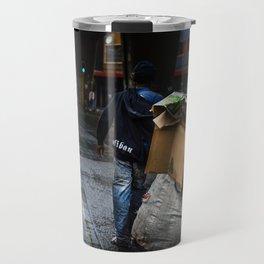 Waste picker On The Streets Travel Mug