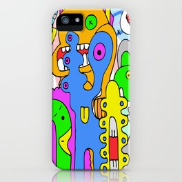 Mad Together iPhone Case
