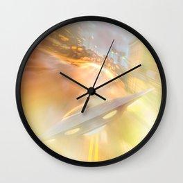 Downtown UFO Wall Clock