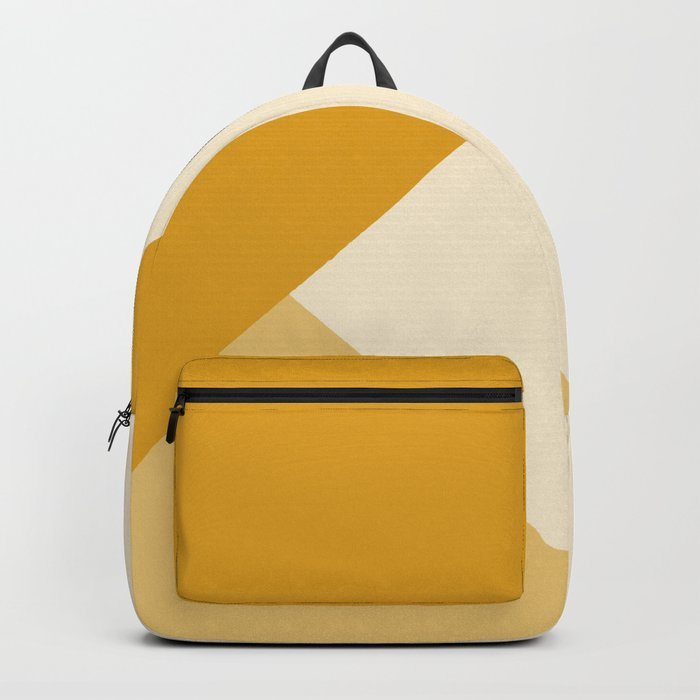 Mustard Tones Rucksack
