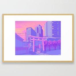 Roppongi Light Framed Art Print