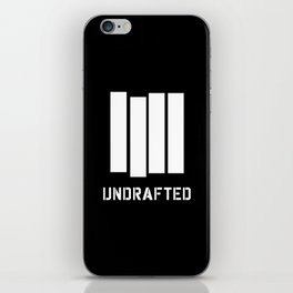 Undrafted iPhone Skin