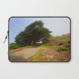 Wind Swept Trees Laptop Sleeve
