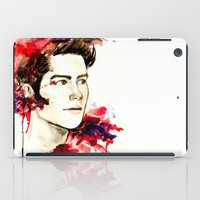 stiles iPad Cases featuring Stiles Stilinski  by Sterekism