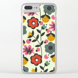 Floral sweetness Clear iPhone Case