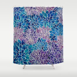 Floral Abstract 34 Shower Curtain