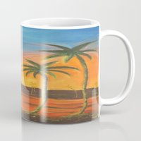 desert Mugs featuring Desert by ArtSchool