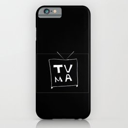 TV Mature iPhone Case