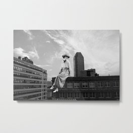 Bright Eyes on the Elevated Metal Print