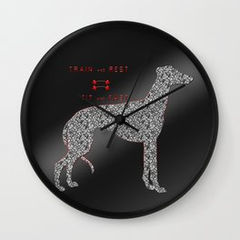 Train and rest = fit and fast Wall Clock