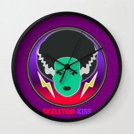 Bride of Neon Frankenstein Wall Clock