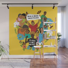 Diversity is Resistance Wall Mural
