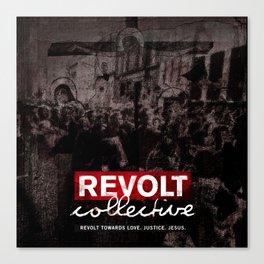 Revolt : Black Friday Canvas Print