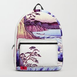 The GREAT Wave : Violet Purple Backpack