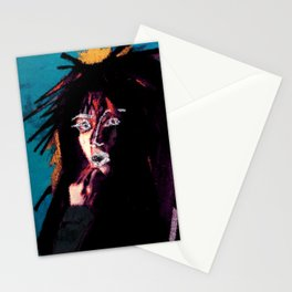 vinyl remix: jody watley Stationery Cards