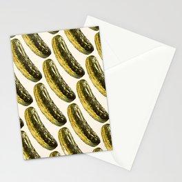 Pickle Pattern Stationery Cards