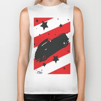 ford Biker Tanks featuring Hot Ford by raven's_revelation_city_graphics
