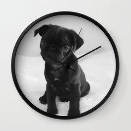 Pug Mitxiru Wall Clock