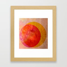 Taste of Citrus Framed Art Print