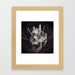 the end tealanb Framed Art Print