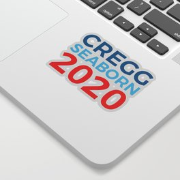 CJ Cregg Sam Seaborn 2020 / The West Wing Sticker
