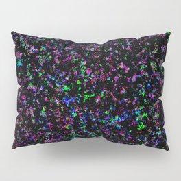 Black Light Color Spray Pillow Sham