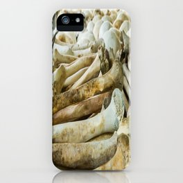 Bones & Skulls - The Killing Fields, PhnomPenh, Cambodia iPhone Case
