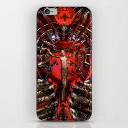 Technological Crucifixion iPhone Skin