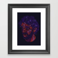 Pau! Framed Art Print
